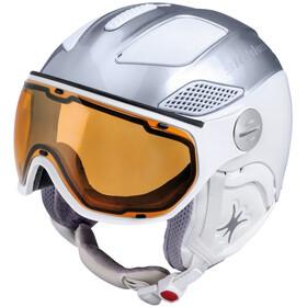 Slokker Free Helmet Women silver white